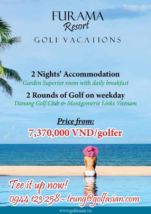 Danang Golf @Furama Resort May - Sep 2015
