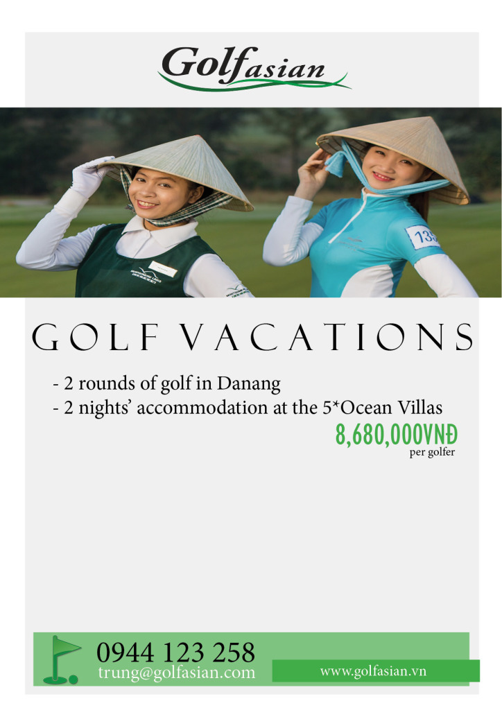 Danang Golf @Ocean Villa - May - Sep 2015