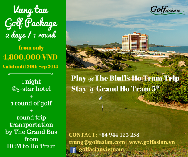 Vung Tau Package @ Grand Ho Tram