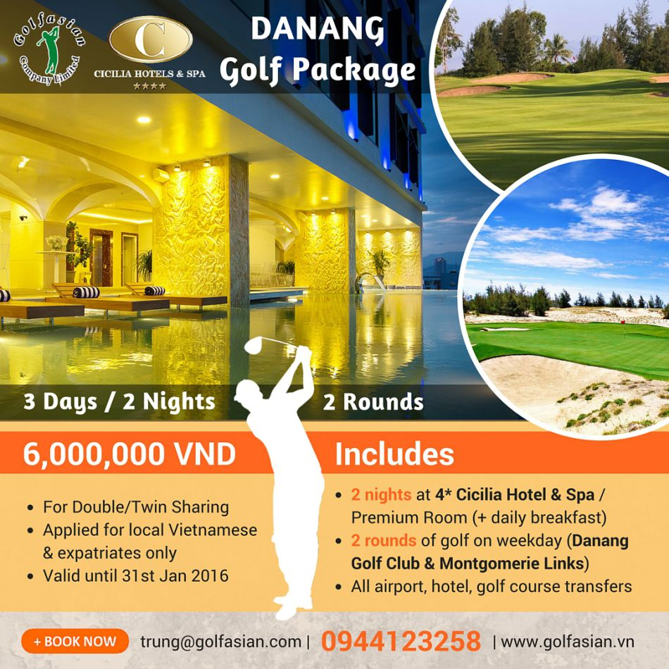 Danang Golf Package - Cicilia Hotel (15)